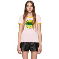 Marc Jacobs Pink The Ringer T Shirt