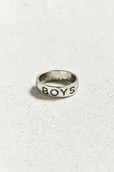 Urban Outfitters Boys Ring Silver