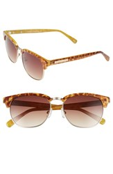Women's Vince Camuto 55Mm Metal Sunglasses Blonde Tortoise