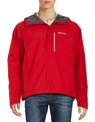 Marmot Minimalist Gore Tex Jacket Team Red