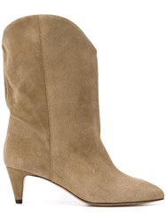 Isabel Marant Cowboy Boots Brown