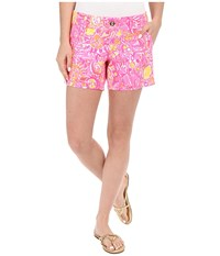 Lilly Pulitzer Callahan Shorts Pink Pout More Kinis In The Keys Women's Shorts