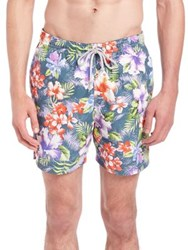 Saks Fifth Avenue Floral Printed Swim Shorts Multi