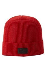 Men's Original Penguin 'Charlie' Knit Watch Cap Red Chinese Red