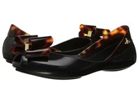 Vivienne Westwood Anglomania Melissa Queen Little Kid Big Kid Black Women's Flat Shoes