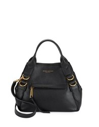 Marc Jacobs Anchor Pebbled Leather Satchel Sahara