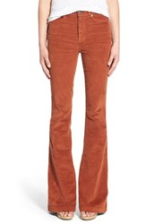 Women's Paige Denim 'Bell Canyon' High Rise Corduroy Flare Pants