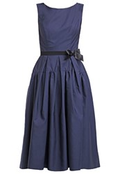 Swing Cocktail Dress Party Dress Navy Dark Blue