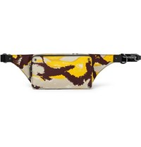 Valentino Garavani Camouflage Print Shell Belt Bag Yellow