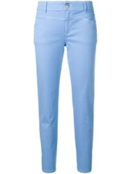 Closed Pedal Queen Trousers Blue