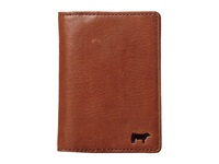 Will Leather Goods Shelby Front Pocket With Money Clip Cognac Wallet Tan