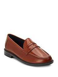 Cole Haan Pinch Campus Leather Penny Loafers Acorn