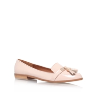 Miss Kg Nadia Flat Slip On Loafers Nude