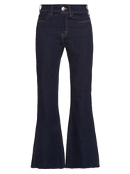 Mih Jeans Lou High Rise Flared Indigo