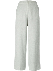Chanel Vintage High Waisted Wide Leg Trouser Nude And Neutrals