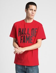 Hall Of Fame Red City T Shirt