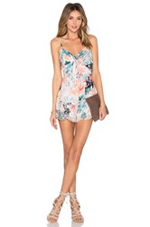 Lovers Friends Bello Romper Teal