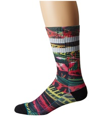 Stance Howell Pink Men's Crew Cut Socks Shoes