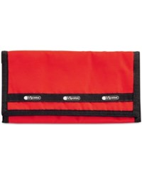 Le Sport Sac Lesportsac Travel System Organizer Wallet Red