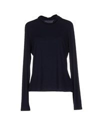 Marella Topwear T Shirts Women Dark Blue
