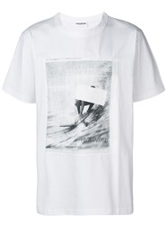 Tom Wood Photographic Print T Shirt White