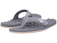 Volcom Recliner Light Grey Men's Sandals Gray
