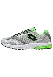 Lotto Zenith V Cushioned Running Shoes Metallic Silver Fluo Mint