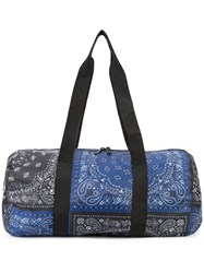 Herschel Supply Co. Bandana Print Holdall Blue