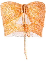 Suboo Sienna Printed Strapless Top 60