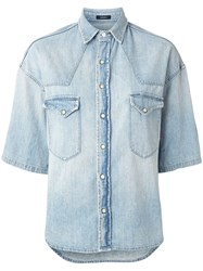 R 13 R13 Denim 3 4 Sleeve Shirt 60