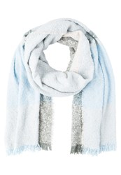 Evenandodd Scarf Light Blue Taupe