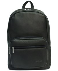 Kenneth Cole Reaction Men's Leather Sling Backpack Black