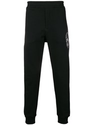 Alexander Mcqueen Slim Fit Track Pants Black