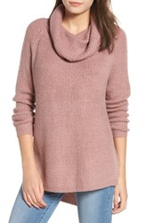 Dreamers By Debut Cowl Neck Sweater Mauve