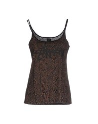 Stussy Topwear Tops Women Dark Brown