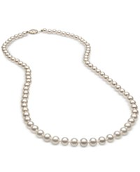 Belle De Mer Cultured Freshwater Pearl 5Mm Strand In 14K Gold White