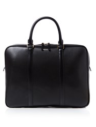 Paul Smith Ps By City Leather Portfolio Bag Black