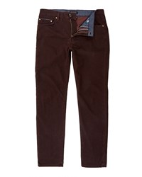 Ted Baker Fratan Min Design Trousers Dark Red