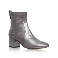 Carvela Strudel High Heel Ankle Boots Grey