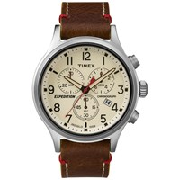 Timex Expedition Scout Chronograph Watch Brown