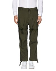 White Mountaineering Casual Pants Military Green