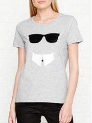 Karl Lagerfeld Monsieur T Shirt Grey