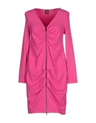 1 One Short Dresses Fuchsia