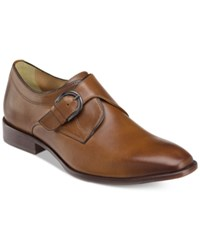 Johnston And Murphy Men's Mcclain Monk Strap Slip On Loafers Men's Shoes Brown
