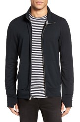 Velvet By Graham And Spencer Men's Full Zip Sweatshirt