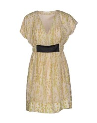 Poems Dresses Short Dresses Women Beige