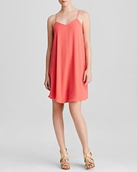 Aqua Dress Cross Back Cami Swing Coral