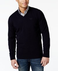 Barbour Lambswool V Neck Sweater