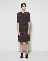 Marni Herringbone Shift Dress Pompei
