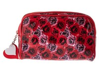 Vera Bradley Lots Of Love Cosmetic Havana Hothouse Luggage Red